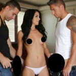 mfm threesome creampie